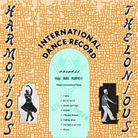 International Dance Record, Cover, Front